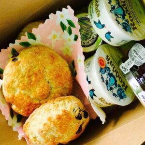 Cream Tea Takeout Treat Box